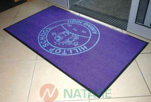 Mata Logomat - Wycieraczka  z możliwością prania